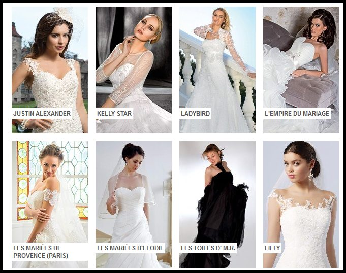 site robes de mariées de créateurs