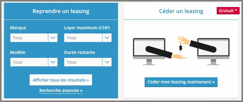 rachat de leasing auto en Suisse