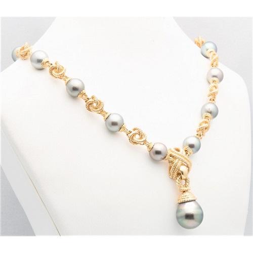 bijou avec perle de tahiti