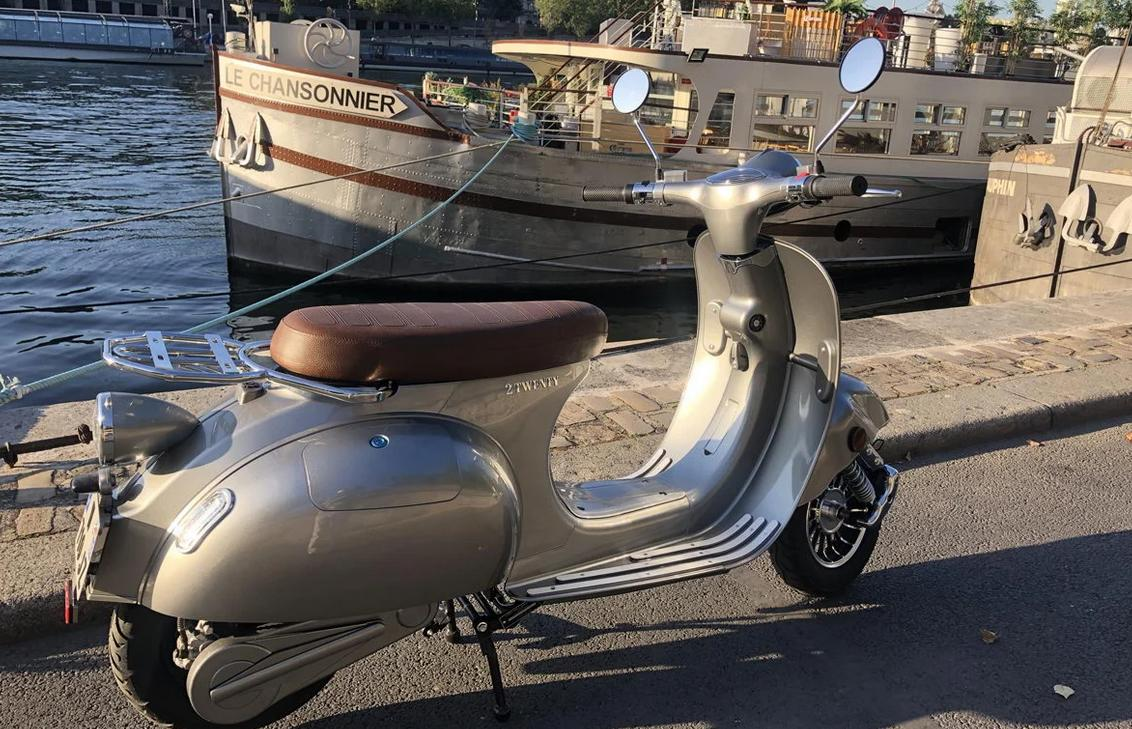 scooter retro electrique